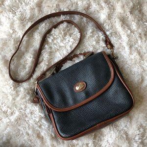 🌻Vintage🌻 Black and Brown Crossbody Bag